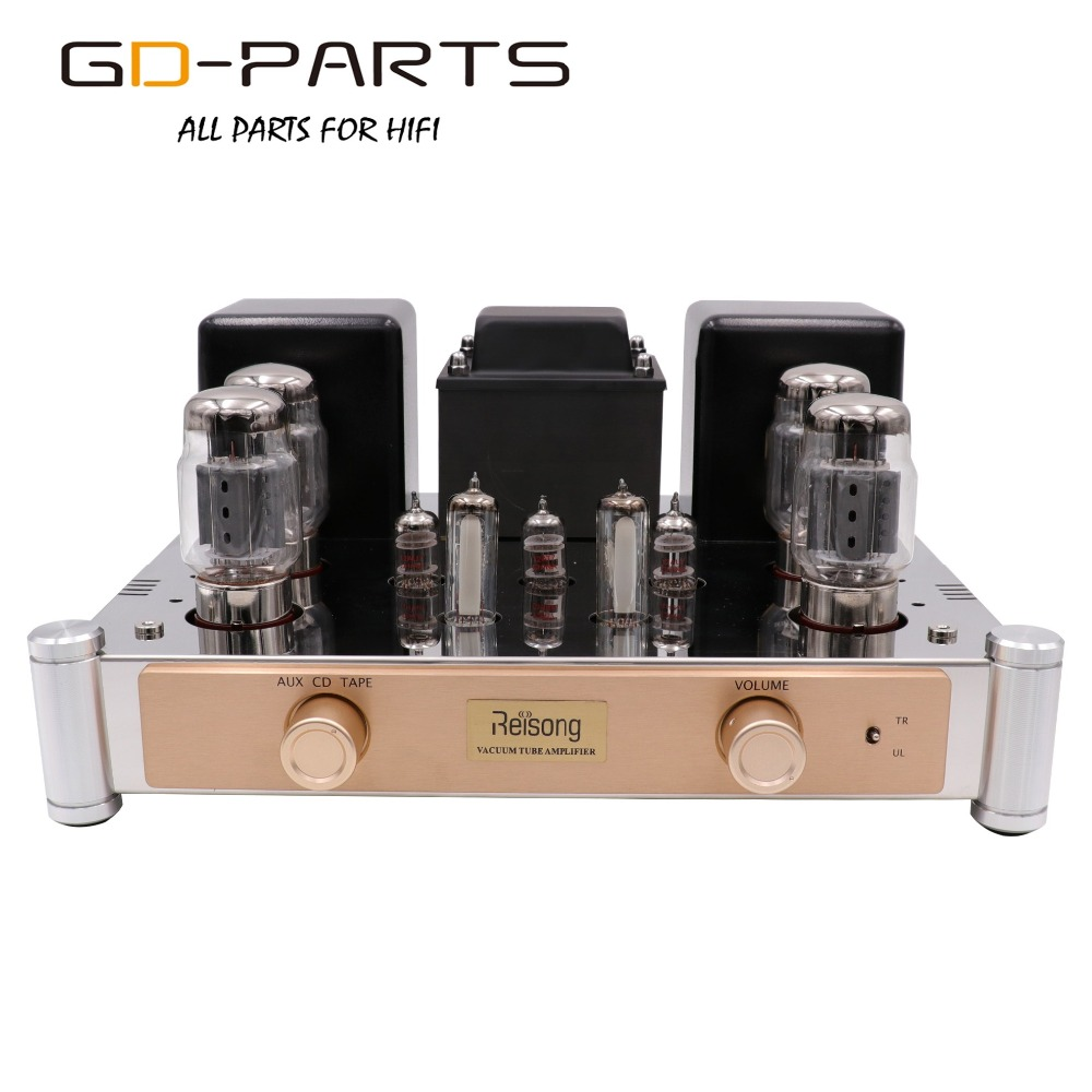 Push Pull KT88 Vacuum Tube Amplifier Hifi Audio Vintage Tube Integrated AMP Home Amplifier Tube AMP AUX CD TAPE Input 35W 60W цена