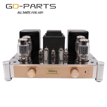 Push Pull KT88 Vacuum Tube Amplifier Hifi Audio Vintage Tube Integrated AMP Home Amplifier Tube AMP AUX CD TAPE Input 35W 60W