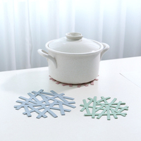 Hot Sale Table Insulation Pad Heat-resistant Placemats Household Hollow Casserole Pad Anti-hot Mat Table Accessories