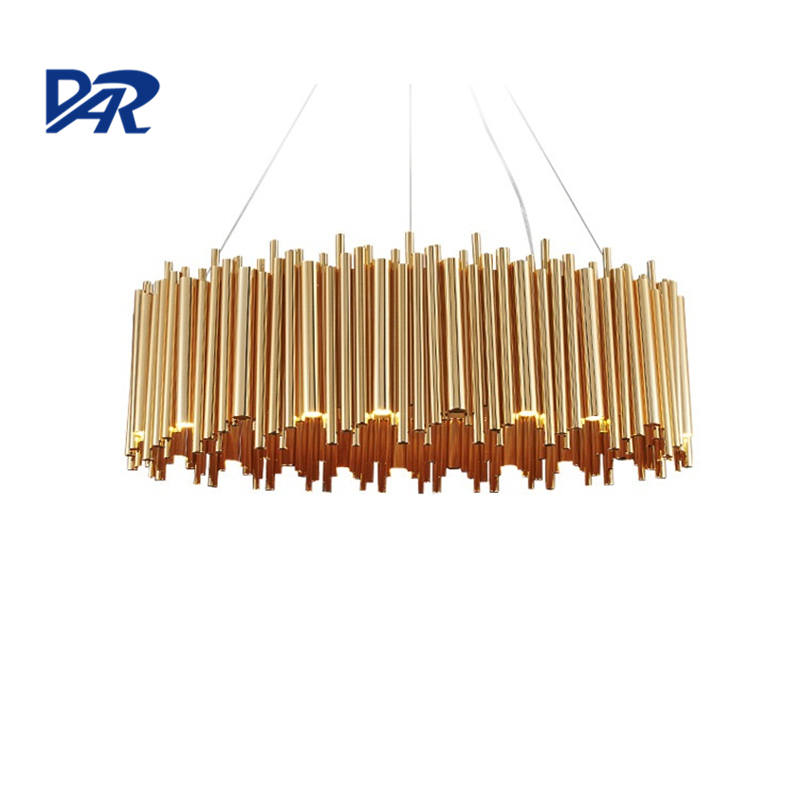 Italy Design Brubeck Gold Aluminum Alloy Tube Pendant Light Suspension Luminaire Illuminazione Interna Project Pendant Lamp New женские кольца jv женское серебряное кольцо с марказитами и малахитами rgre001 mh mz wg 18