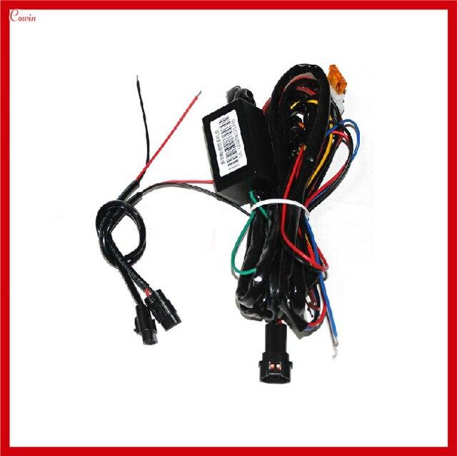 Новый автомобиль LED DRL реле днем Бег света жгута реле авто DRL контроллер включения/выключения Парковка свет