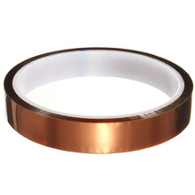 15mm x 30m One-side Self-adhesive High Temperature Heat Resistant Polyimide Tape 260-300 Degree Top Quality