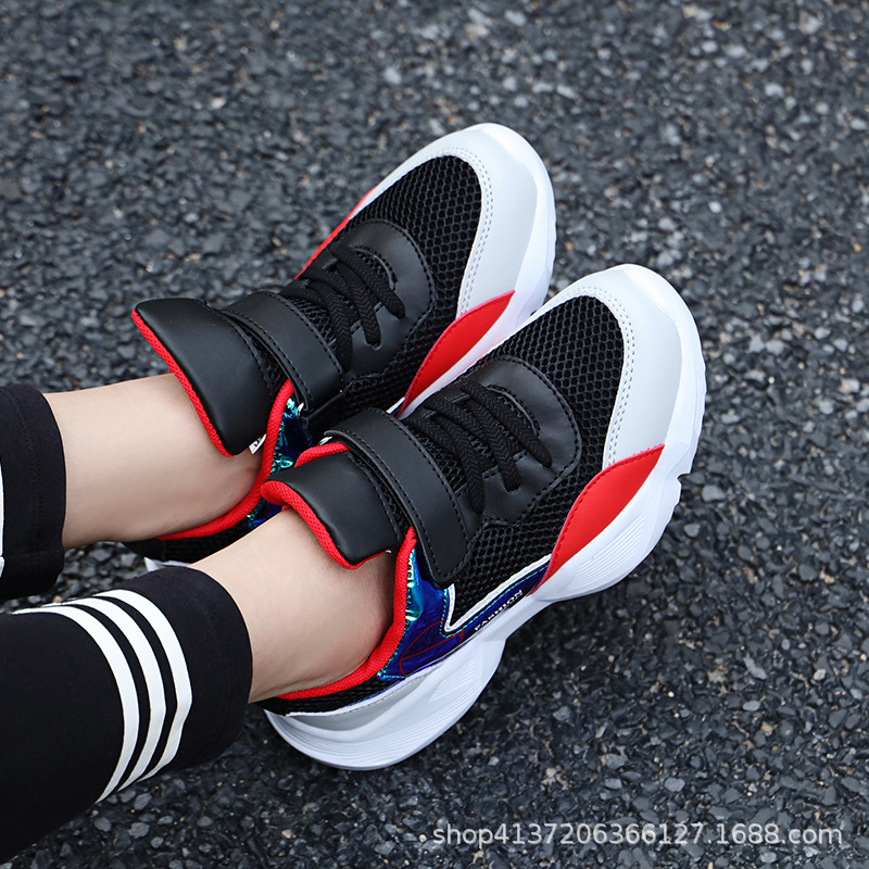 2019 spring new mesh breathable womens shoes big children wild Korean student casual