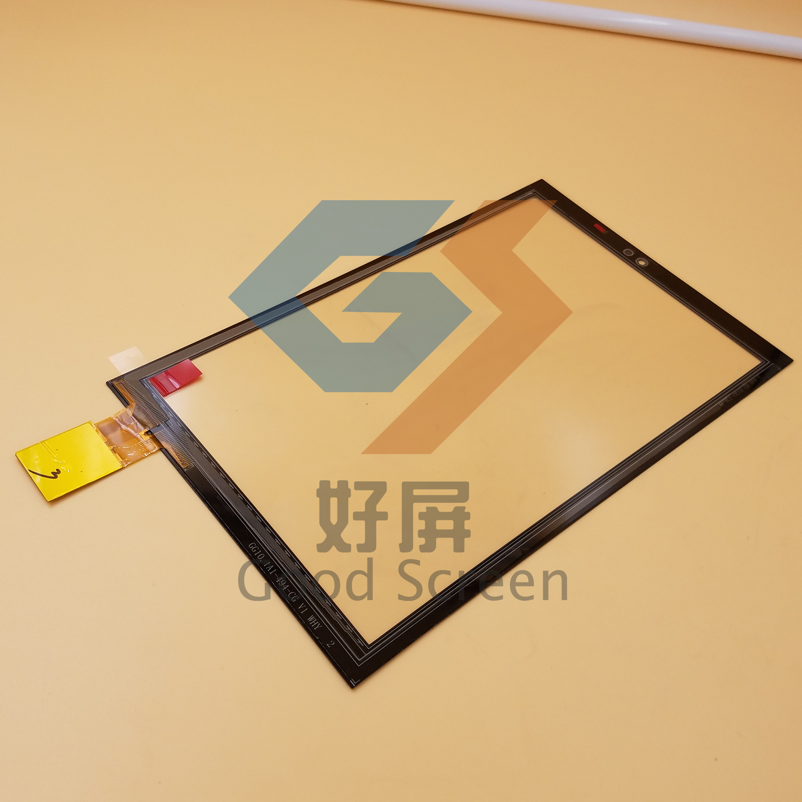 10.1inch for FCC0494-4615 GG10.1A1-494-CG tablet pc capacitive touch screen panel digitizer glass sensor FCC0494 new 7 inch tablet pc mglctp 701271 authentic touch screen handwriting screen multi point capacitive screen external screen