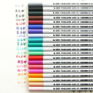 Image 1 - 26 kleuren Fineliner Pennen 0.4mm Ultra Fijne Tip Gekleurde Pen Aquarel Gebaseerd Micron Inkt Marker Pen Set Perfect voor schets Tekening