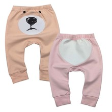 Wholesale  Baby Pants Boys girls Cotton Autumn Leggings for boys Mid Full Length Trousers Infant Girl Clothing