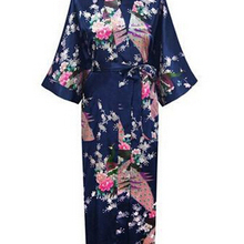 RB015 атласные халаты для невест, Свадебный халат, пижамы, шелковая пижама, повседневный халат с изображением животных, вискоза, длинная ночная рубашка, женское кимоно, XXXL