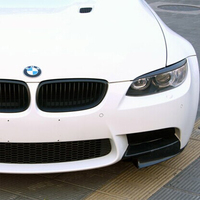 For BMW E92 E93 m3 Carbon Fiber Front Headlamp Eyebrows Eyelids Headlights 2005 2012 Lumma style
