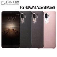 CENMASO Original Case For Huawei Ascend Mate 9 Flip Leather Shell Sleep Wake Smart Window View