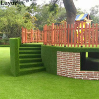 Luyue Artificial Plant Artificial Grass Lawn Home Courtyard Decoration Carpet 1 5m Environmental Protection Health