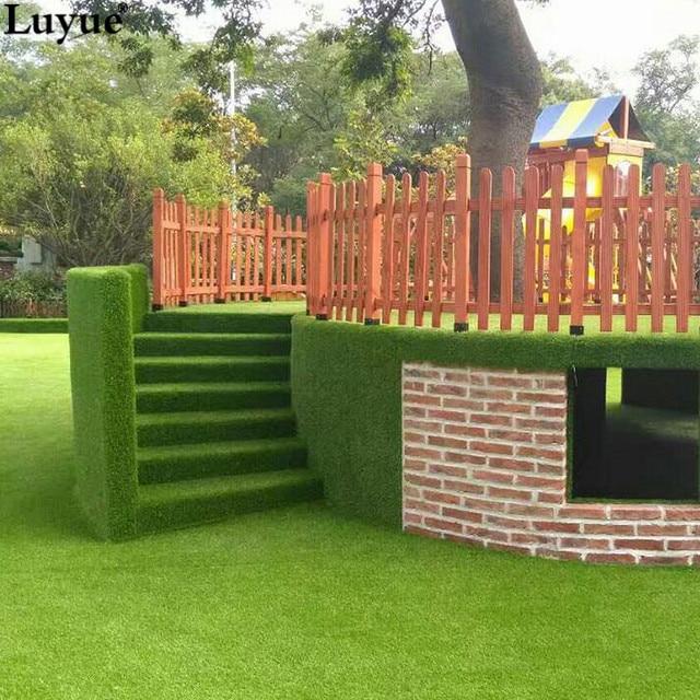 Ganz und zu Extrem Luyue Künstliche Gras Rasen Home Hof balkon dekoration kunstrasen @EV_02