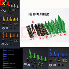 Universal Motorcycle Accessories Fairing Bolts Screw Kit For FOR YAMAHA XVS1300 STRYKER XV950 XV535