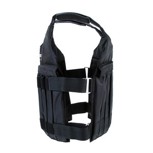 Image 5 - 20kg/50kg Adjustable Weighted Vest Loading Weights Waistcoat for Boxing Training Workout Fitness Equipment Sand Clothing