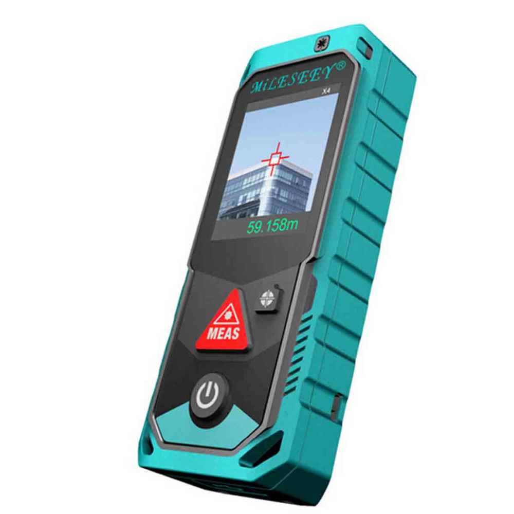 MILESEEY P7 80m Bluetooth Laser Rangefinder Camera Finder Point Rotary Touch Screen Rechargerable Laser Distance Meter цена