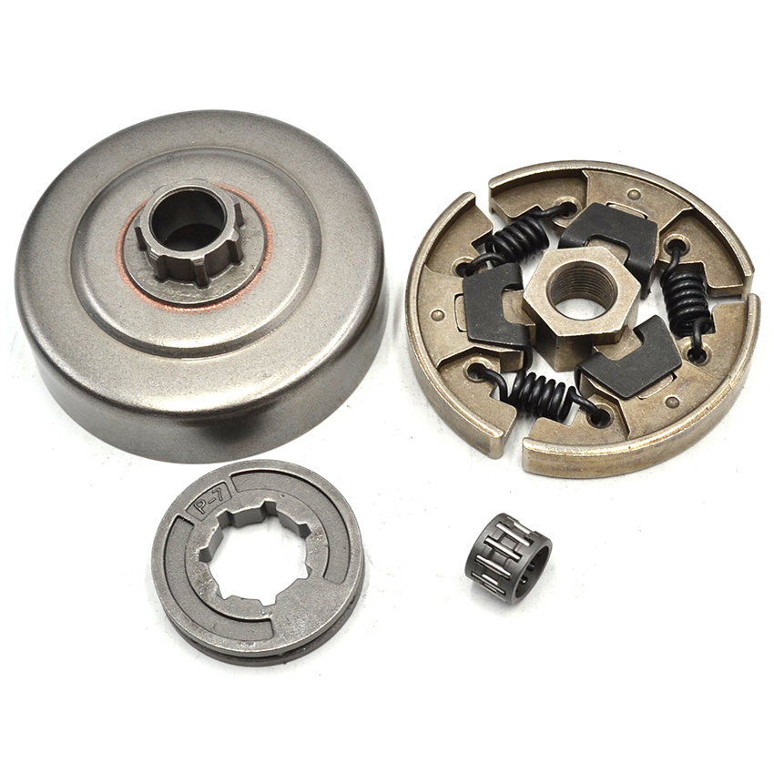 Clutch Drum Sprocket Rim Kit For STIHL 017 018 021 023 025 MS170 MS180 MS230 MS210 MS250 42 5mm cylinder piston kits with clutch cover drum chain sprocket for stihl 023 025 ms230 ms250 chainsaw