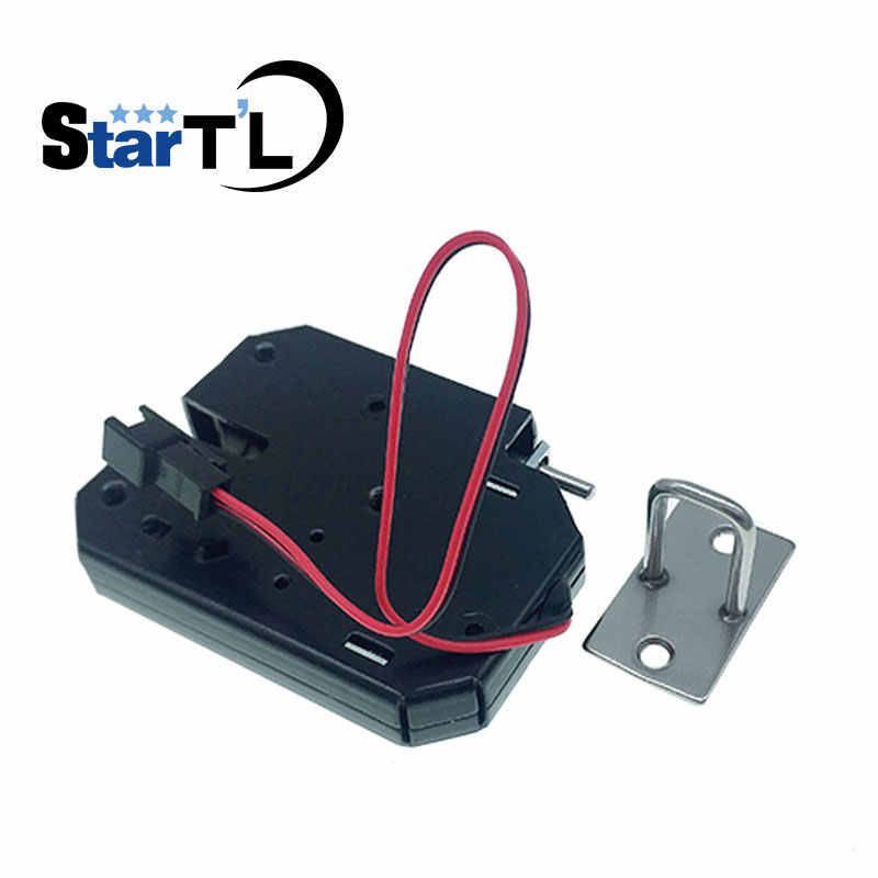12vdc Electric Metal Small Bolt Lock With Bouncer For Drawer