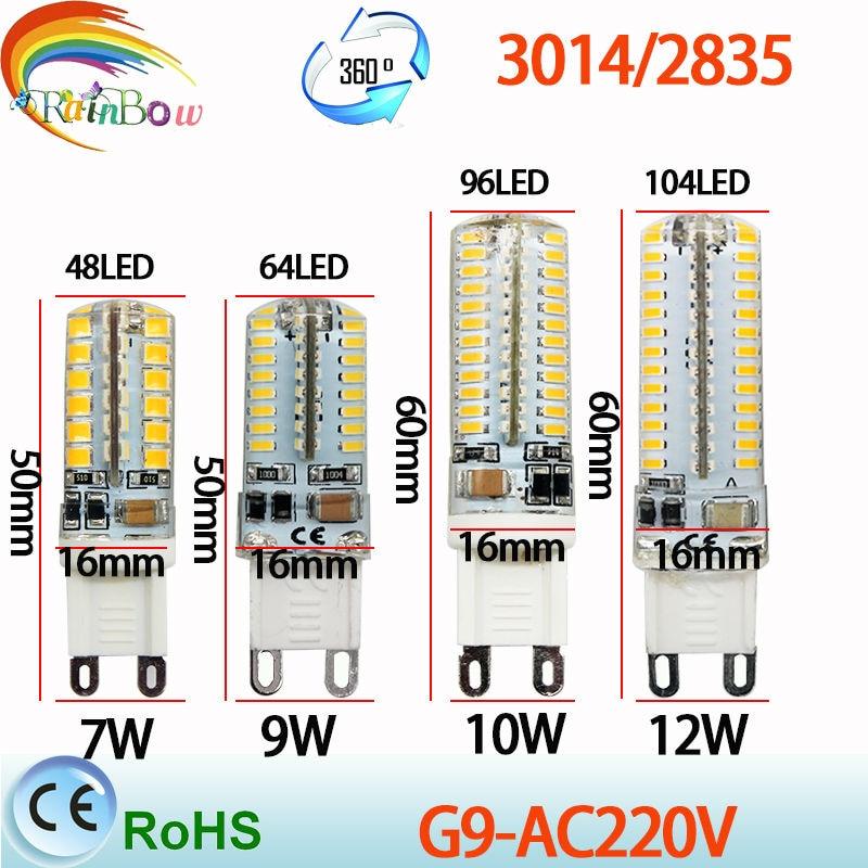 Aliexpress Buy Lowest price 1pcs lot G9 LED Bulb Lamp SMD2835