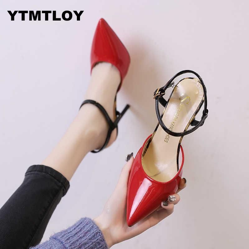 Women Block High Heels Bridal  Pumps Ladies Pointed Toe Black khaki Plaza Heels Female Shoes  Zapatos Mujer  Leisure  T-strap E6Women Block High Heels Bridal  Pumps Ladies Pointed Toe Black khaki Plaza Heels Female Shoes  Zapatos Mujer  Leisure  T-strap E6