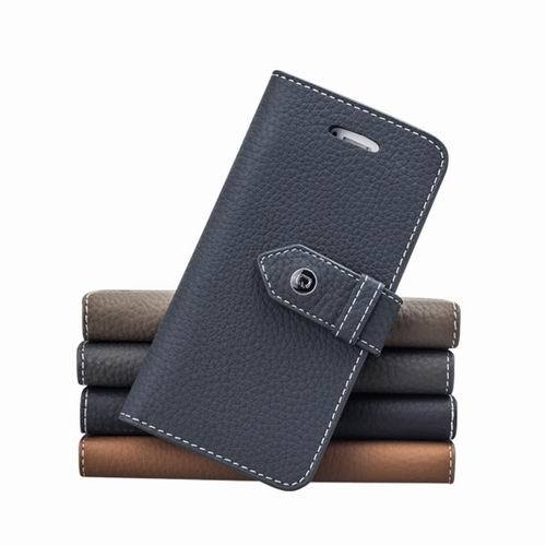 Luxury Fashion Lichee pattern cell phone cover for apple 5 5s,premium genuine leather flip mobile phone housing