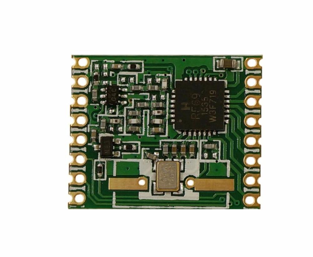 RFM69HW RFM69H FSK transceiver module 20dBm Frequency 433MHZ   868MHZ 915MHZ  FREE SHIPPING .WHOLESALE !!! IN STOCK ! rfm01 433 868 915mhz