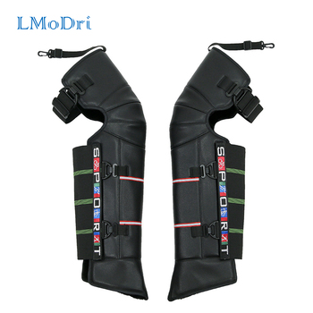 LMoDri Winter Scooter Motorcycle Rider Keeping Warm Kneepad Windproof Warming Knee Pads Legs Protector Thickening Cold-Proof electric moxa knee pads autumn and winter to keep warm old cold legs men women moxibustion joint inflammation middle aged