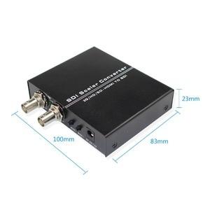 Image 4 - محول HDMI إلى ثنائي SDI دعم 1080p 1080i كامل HD HDMI إلى 2 منفذ SD SDI/HD SDI/3G SDI BNC Scaler محول