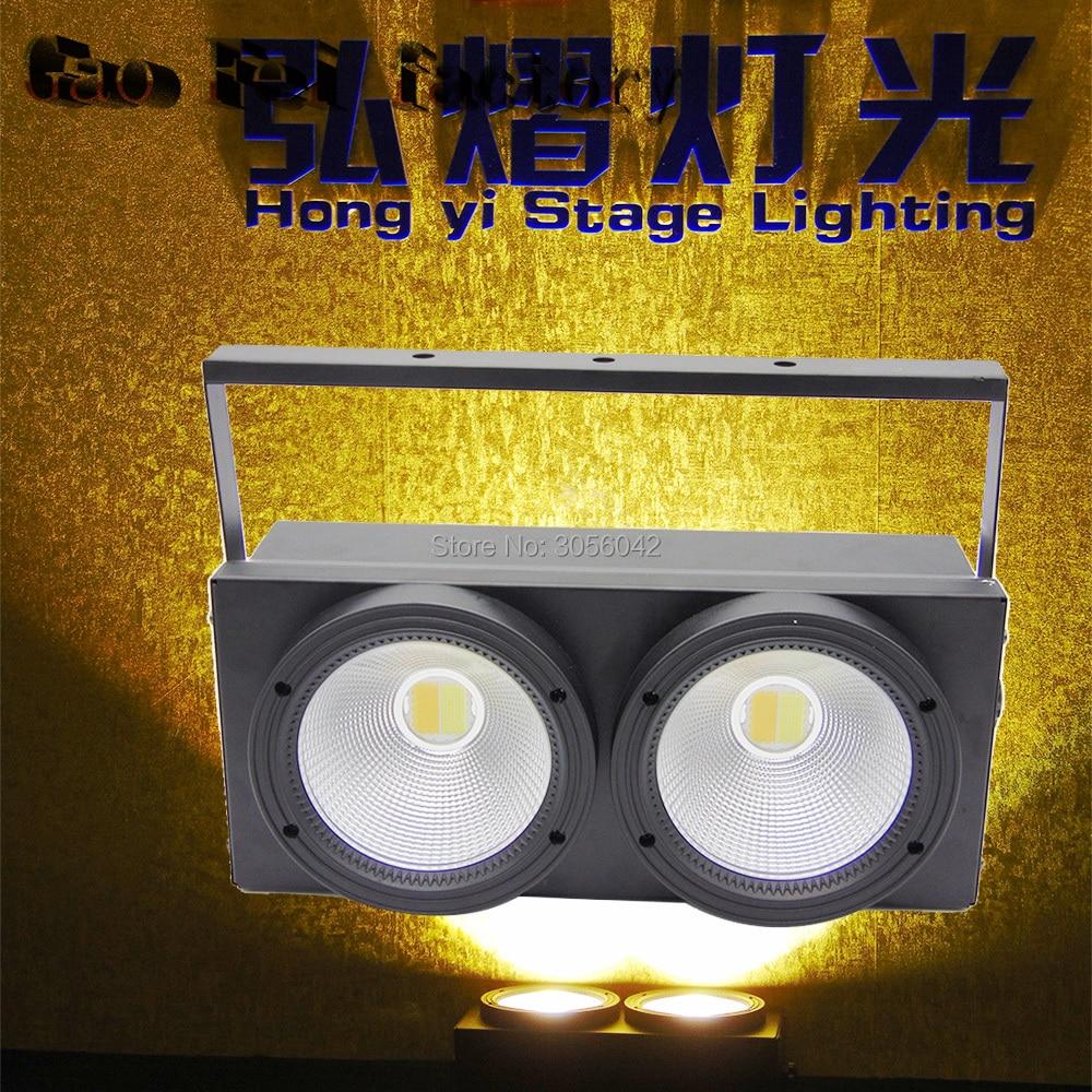 2eyes 2x100w LED COB DMX Stage Lighting Effect Warm White2eyes 2x100w LED COB DMX Stage Lighting Effect Warm White