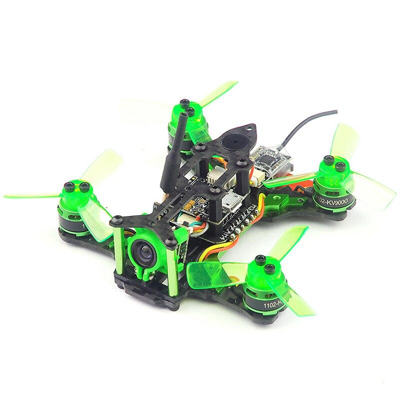 Happymodel Mantis85 85mm Kit de cadre quadrirotor pur carbone Supers_F4 6A BLHELI_S 5.8G 25 MW 48CH 600TVL BNF pour Drone de course FPV