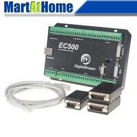 Ethernet 3/4/5/6 Axis Mach3 CNC Motion Control Card Breakout Board 460 KHz 24V DC Support Standard MPG & Stepper/Servo Driver