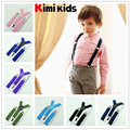 2.5cm 2016 new High Quality  Boys and Girl Clip-on Elastic  Braces  Kids Baby Suspenders  Children Accessories