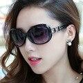 Ретро большой рамка женщины солнцезащитные очки на открытом воздухе отдыха торговый бренд дизайнер солнцезащитные очки женские Овальный Путешествия очки
