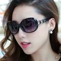 Retro big frame women sunglasses outdoor relaxation shopping brand designer sun glasses female Oval Travel eyewear