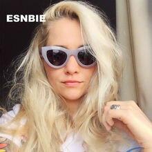 Женские винтажные солнцезащитные очки esnbie пикантные «кошачий