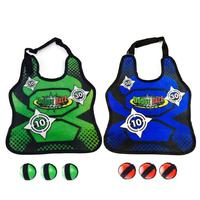 Outdoor Game Props Vest Sticky Jersey Vest Game Vest Waistcoat With Sticky Ball Throwing Children Kids Outdoor Fun Sports Toy 4