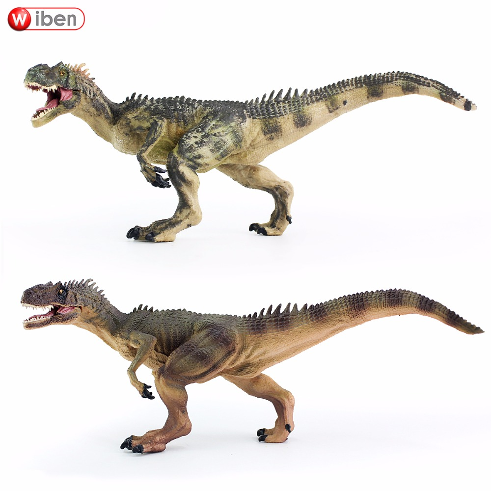 Wiben Jurassic Allosaurus Dinosaur Toys Animal Model Collectible Model Toy Learning & Educational Boys Gift wiben jurassic carcharodontosaurus toy dinosaur action