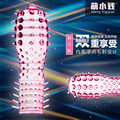 New Hot Reusable Super Stretchy Full Cover Penis Sleeve Cock Ring Delay Impotence Erection Condoms Sex Products for Men Penis