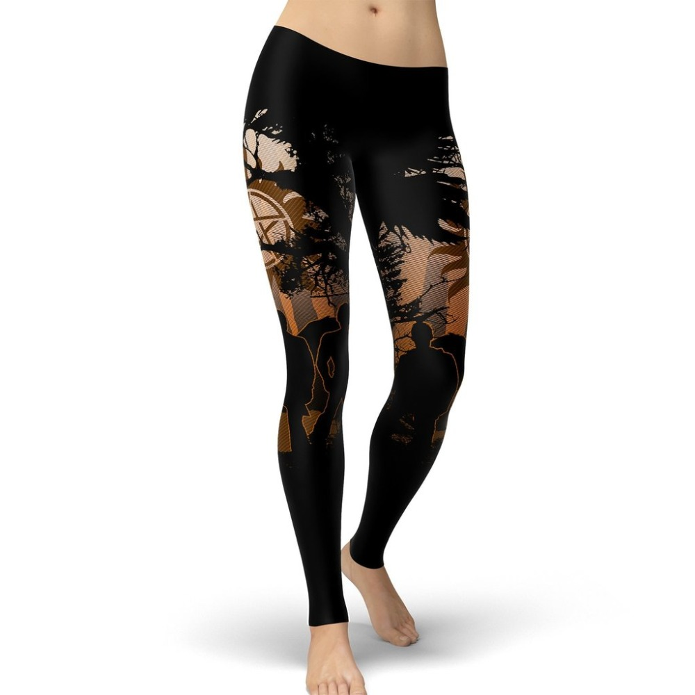 2019 New Super Natural Women Leggings Demon Hunters Leggins Printed Legging For Woman Pants
