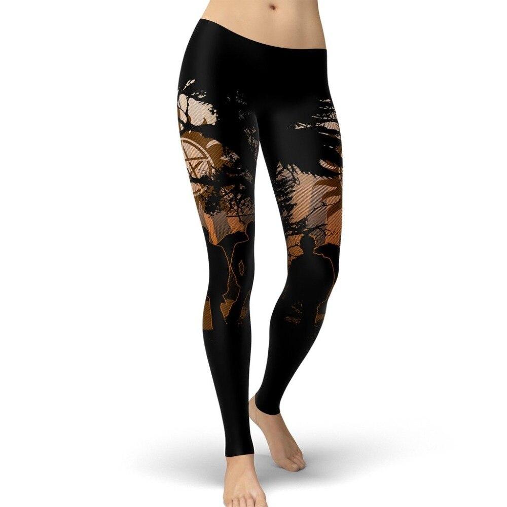 2019 New Super Natural Women Leggings Demon Hunters Leggins Printed Legging For Woman Pants