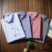 직접 판매 만다린 칼라 남성 heren 셔츠 일반 맞는 하와이 중국어 셔츠 chemises militaire jeetoo nianjeep camisa 슬림