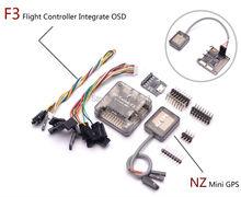 PRO SP Racing F3 Flight Controller Integrate OSD + Ultra Small Ublox 7 Series Mini GPS NZ GPS for Mini 250 210 Quadcopter Drone