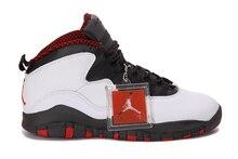 c79f631cd2970c 2018 Jordan Air Retro 10 X Man Basketball Shoes White and black red venom  stealth steel