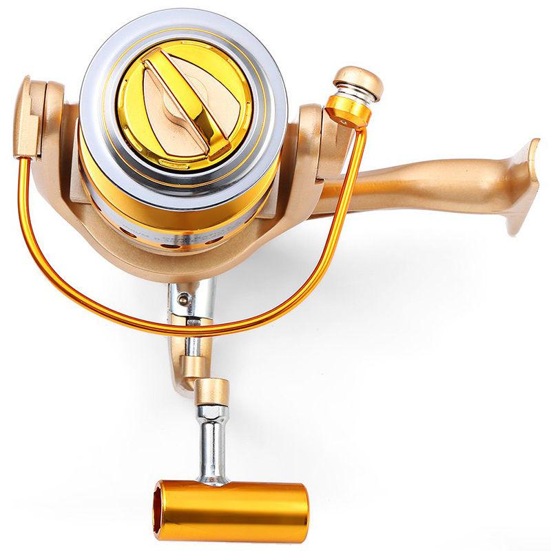 New 12BB Ball Bearings 5.5:1 Gear Ratio Fishing Reels Spinning Reel Wheel Tools HF1000-9000 Series YS-BUY