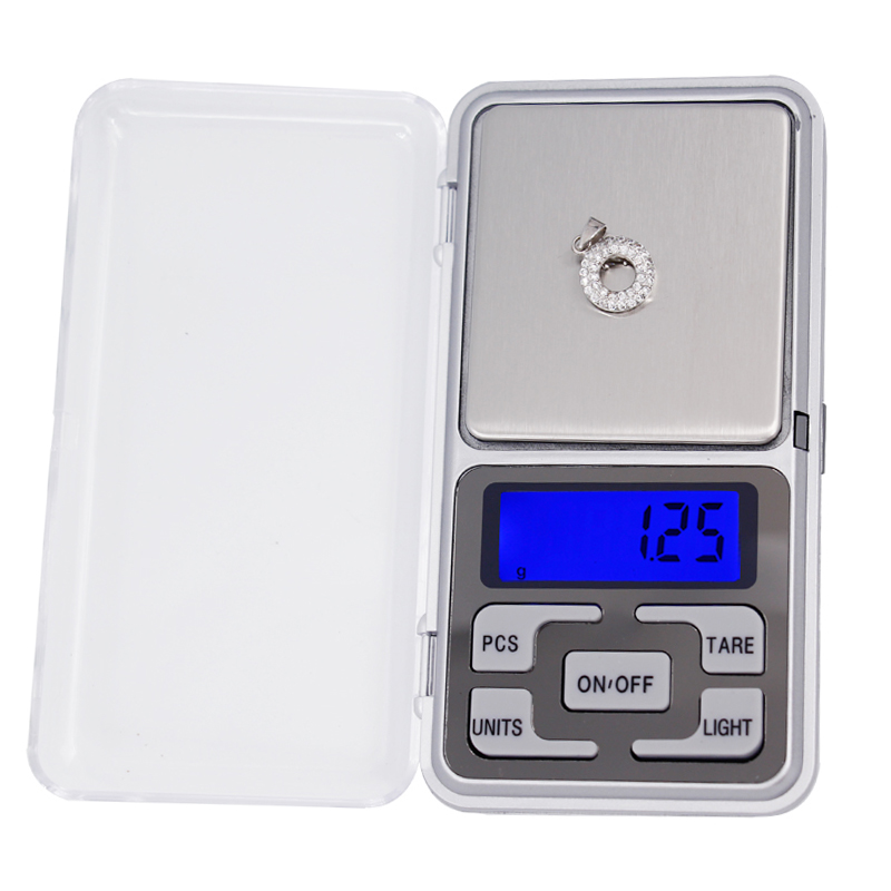 5pcs 500g x 0.01g Balance Gram Weighing ScalesPocket Digital Jewelry weight Scale with LCD Display 40% off
