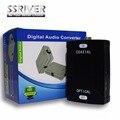 SSRIVER Оптический Toslink вход Для Коаксиального RCA Выходной Разъем Цифровой Аудио Конвертер Адаптер для Преобразования Аудио Формат