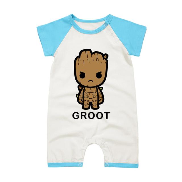 Pyjamas Bébé GROOT – Barboteuse Bébé À Manches Courtes