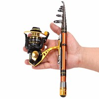 Sea Fishing Rod 5/5.5/6/7/8/9 Ft Hard Carbon Ultra Mini Small Cheetah Pocket 8 12 Sections Lure Rock Fish Rod Tackles