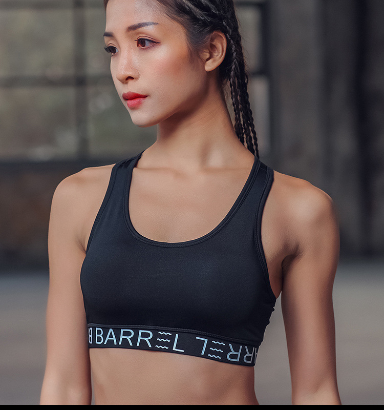 927d3e9373 Novel ideas Yoga Bra Gym Running Women s High Impact Support Wirefree  Workout Racerback Sports Bra Top-in Sports Bras from Sports   Entertainment  on ...