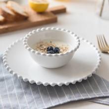 Chinabone сердце керамическая посуда наборы рисовая чаша фруктовые тарелки блюдо фруктовый поднос миска для лапши керамическая чаша фарфоровые кухонные инструменты