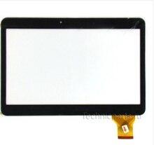 "Nuevo Para 10.1 ""pulgadas RoverPad Tesla 10.1 3G pantalla táctil de la Tableta Táctil digitalizador del Sensor de Cristal de Reemplazo Libre gratis"