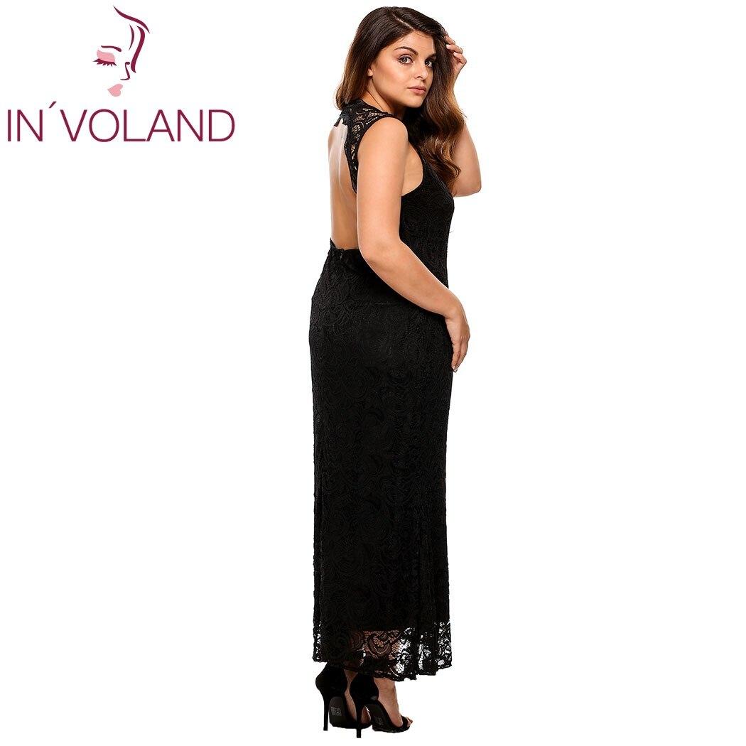 IN'VOLAND ქალის მაქმანი კაბა - ქალის ტანსაცმელი - ფოტო 4